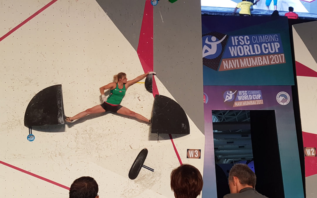 Climbers statements on weight and changes in competition